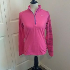Nike 3/4 zip running jacket